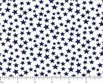 Blue Stars on White 2
