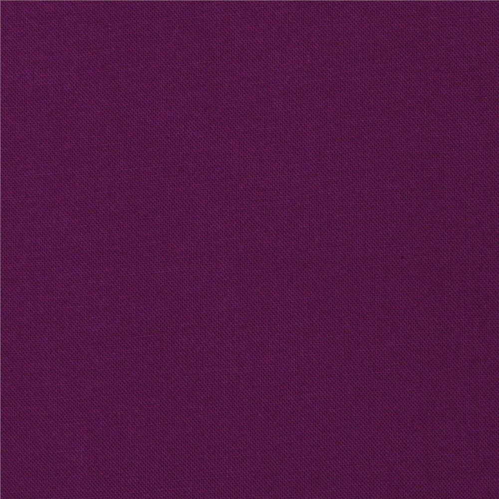 Kona Cotton Dark Violet By Robert Kaufman