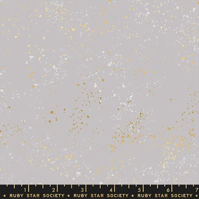 """108"""" Backing- Speckled Wide- Dove/Metallic"""