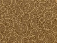 "108"" Backing - Sew Many Circles- Brown"