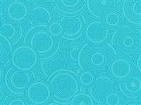 """108"""" Backing - Sew Many Circles- Turquoise"""