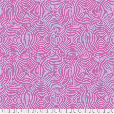 """108"""" Backing - Onion Rings- Pink- SATEEN"""
