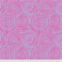 "108"" Backing - Onion Rings- Pink- SATEEN"