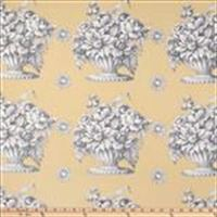 "108"" Backing - Stone Flower - SATEEN Chinz"