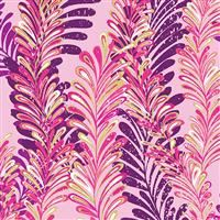 Butterfly Jewel- Jeweled Ferns Pink