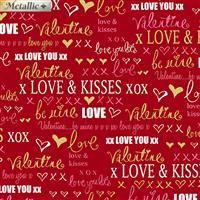 Cherish- Love Words Red