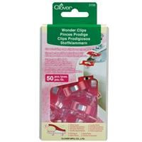 Wonder Clips- 50 Count Red