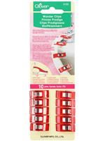 Wonder Clips- 10 Count Red