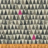 Wonder- Stacked Triangle- Gray