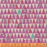 Wonder- Stacked Triangle- Pink