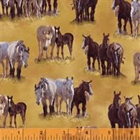 Happy Trails- Horses- Tan