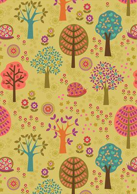 Flower Child- Groovy Forest- Multi