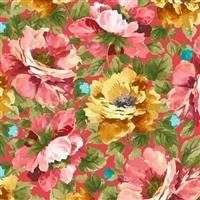 Vivian- Large Floral- Rose
