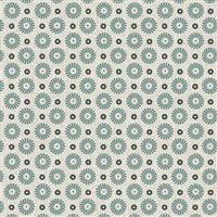Farm Sweet Farm- Pinwheel- Aqua/Tan