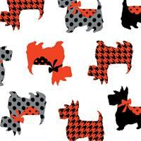 Dotty for Scottie- Sweet Scotties- White
