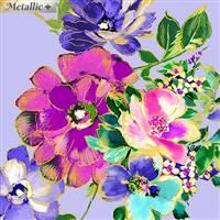 Watercolor Wishes- Bouquet Wishes- Light Perl/Metallic