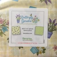 "Butterfly Garden 5"" Squares"