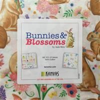 "Bunnies & Blossoms 10"" Squares"