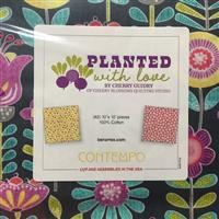 "Planted With Love 10"" Squares"