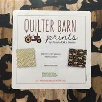 "Quilter Barn Prints 10"" Squares"