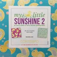 "My Little Sunshine 2 10"" Squares"