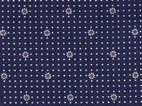 Waverly Inspirations- Patriotic- Navy Daisy