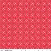 Swiss Dot- Cayenne