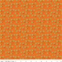 Give Thanks- Blossoms- Orange