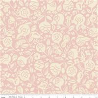 Beauty And The Beast- Floral- Pink