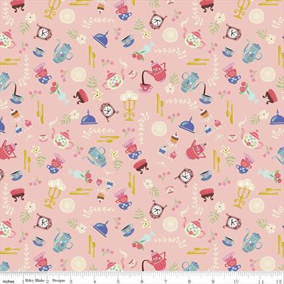 Beauty And The Beast- Objects- Pink