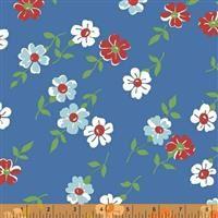 Bounce- Floral- Blue