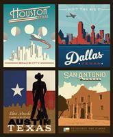Destinations Pillow Panel- Texas