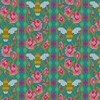 Handiwork- Beadwork- Peacock