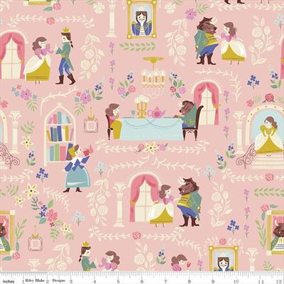 Beauty And The Beast- Main- Pink