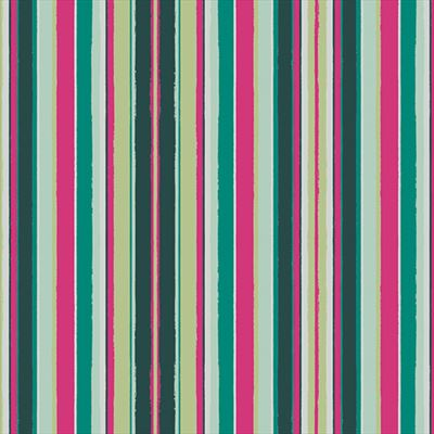 Loved to Pieces- Striped Flow Rainbow