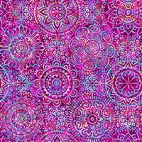 Zanzibar- Mandala- Pink