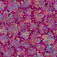 Zanzibar- Paisley- Pink