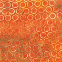 Batik- My Heart's Adobe- Circles- Orange