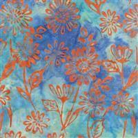 Batik- My Heart's Adobe- Field- Blue