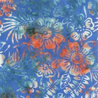Batik- My Heart's Adobe- Garden- Blue