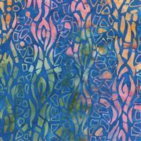 Batik- Banks of the Siene- Texture- Aurora