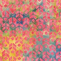 Batik- Banks of the Siene- Squares- Twist