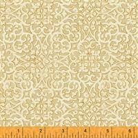 Spellbound- Lace Medallions- Cream/Metallic