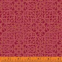 Spellbound- Lace Medallions- Red/Metallic