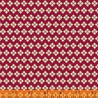 Spellbound- Vintage Crochet- Red/Metallic