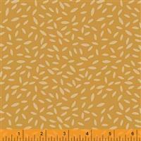 Kenzie- Sprinkled Leaves- Yellow