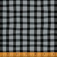 A to Zoo- Loose Gingham- Black