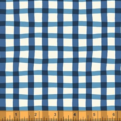 A to Zoo- Loose Gingham- Blue