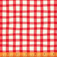 A to Zoo- Loose Gingham- Red