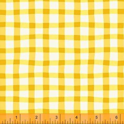 A to Zoo- Loose Gingham- Yellow